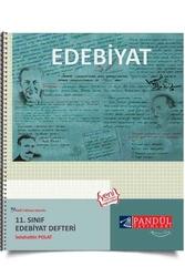 Pandül Yayınları - Pandül Yayınları 11. Sınıf Edebiyat Defteri