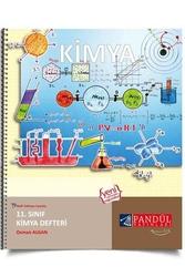 Pandül Yayınları - Pandül Yayınları 11. Sınıf Kimya Defteri