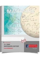 Pandül Yayınları - Pandül Yayınları 11. Sınıf Matematik Defteri