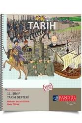 Pandül Yayınları - Pandül Yayınları 11. Sınıf Tarih Defteri