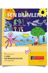 Pandül Yayınları - Pandül Yayınları 5. Sınıf Fen Bilimleri Defteri