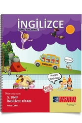 Pandül Yayınları - Pandül Yayınları 5. Sınıf İngilizce Defteri