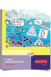 Pandül Yayınları - Pandül Yayınları 5. Sınıf Matematik Defteri