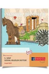 Pandül Yayınları - Pandül Yayınları 5. Sınıf Sosyal Bilgiler Defteri