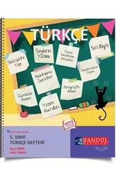 Pandül Yayınları - Pandül Yayınları 5. Sınıf Türkçe Defteri