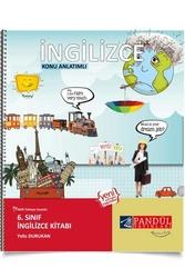 Pandül Yayınları - Pandül Yayınları 6. Sınıf İngilizce Defteri
