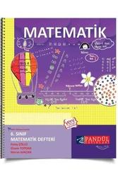 Pandül Yayınları - Pandül Yayınları 6. Sınıf Matematik Defteri