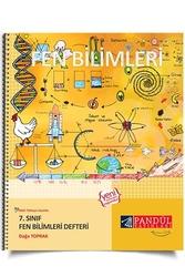 Pandül Yayınları - Pandül Yayınları 7. Sınıf Fen Bilimleri Defteri