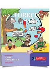 Pandül Yayınları - Pandül Yayınları 7. Sınıf Türkçe Defteri