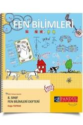 Pandül Yayınları - Pandül Yayınları 8. Sınıf Fen Bilimleri Defteri