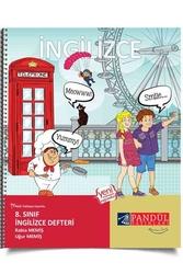 Pandül Yayınları - Pandül Yayınları 8. Sınıf İngilizce Defteri