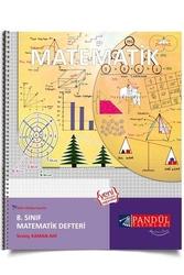 Pandül Yayınları - Pandül Yayınları 8. Sınıf Matematik Defteri
