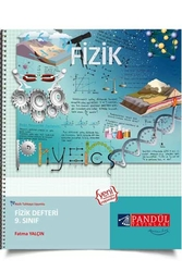 Pandül Yayınları - Pandül Yayınları 9. Sınıf Fizik Defteri