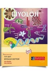 Pandül Yayınları - Pandül Yayınları TYT AYT Biyoloji Defteri
