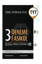 Papyon Yayınları - Papyon YKS TYT 3 Fasikül Deneme Video Çözümlü Papyon Yayınları