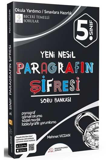 Paragrafın Şifresi Yayınları - Paragrafın Şifresi Yayınları 5. Sınıf Paragrafın Şifresi Soru Bankası