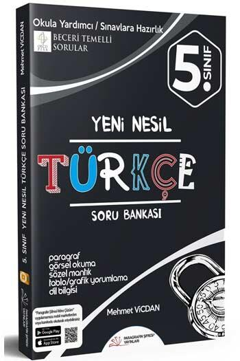 Paragrafın Şifresi Yayınları - Paragrafın Şifresi Yayınları 5. Sınıf Türkçe Soru Bankası