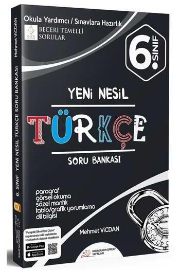 Paragrafın Şifresi Yayınları - Paragrafın Şifresi Yayınları 6. Sınıf Türkçe Soru Bankası