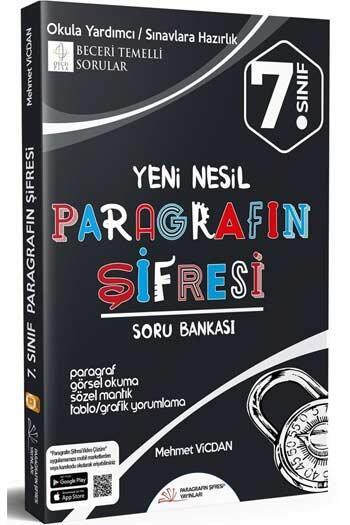 Paragrafın Şifresi Yayınları - Paragrafın Şifresi Yayınları 7. Sınıf Paragrafın Şifresi Soru Bankası