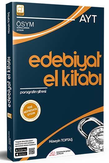 Paragrafın Şifresi Yayınları - Paragrafın Şifresi Yayınları AYT Edebiyat El Kitabı