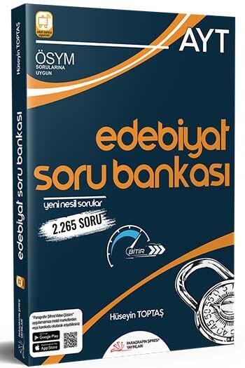 Paragrafın Şifresi Yayınları - Paragrafın Şifresi Yayınları AYT Edebiyat Soru Bankası