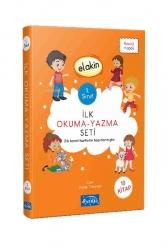 Parıltı Yayıncılık - Parıltı Yayınları 1.Sınıf İlk Okuma Yazma Seti Dik Temel Harflerle