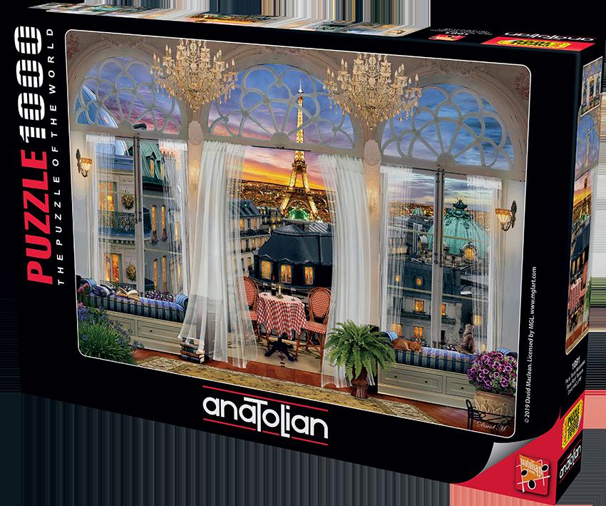 Anatolian - Paris Teras Manzarası / Paris Roof Terrace