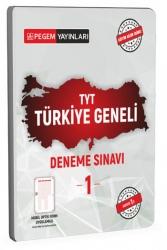 Pegem Akademi Yayıncılık - Pegem Akademi Yayıncılık TYT Türkiye Geneli Deneme Sınavı 1