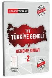 Pegem Akademi Yayıncılık - Pegem Akademi Yayıncılık TYT Türkiye Geneli Deneme Sınavı 2