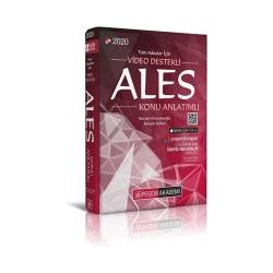 Pegem Akademi Yayıncılık - Pegem Yayınlar 2020 Tüm Adaylar İçin Video Destekli ALES Konu Anlatımlı