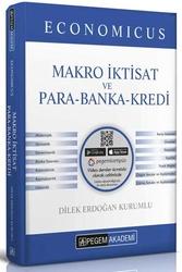 Pegem Akademi Yayıncılık - Pegem Yayınları 2020 KPSS A Grubu Economicus Makro İktisat ve Para-Banka-Kredi Konu Anlatımı