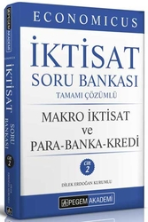 Pegem Akademi Yayıncılık - Pegem Yayınları 2020 KPSS A Grubu Economicus Makro İktisat Ve Para-Banka-Kredi Tamamı Çözümlü Soru Bankası Cilt 2