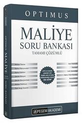 Pegem Akademi Yayıncılık - Pegem Yayınları 2020 KPSS A Grubu Optimus Maliye Soru Bankası