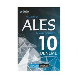 Pegem Akademi Yayıncılık - Pegem Yayınları 2020 ALES Tamamı Çözümlü 10 Deneme
