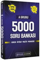 Pegem Akademi Yayıncılık - Pegem Yayınları 2020 KPSS A Grubu 5000 Soru Bankası