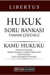Pegem Akademi Yayıncılık - Pegem Yayınları 2020 KPSS A Grubu Libertus Kamu Hukuku Tamamı Çözümlü Soru Bankası