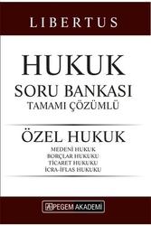 Pegem Akademi Yayıncılık - Pegem Yayınları 2020 KPSS A Grubu Libertus Özel Hukuk Tamamı Çözümlü Soru Bankası