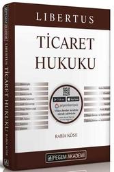 Pegem Akademi Yayıncılık - Pegem Yayınları 2020 KPSS A Grubu Libertus Ticaret Hukuku Konu Anlatımı