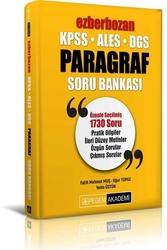 Pegem Akademi Yayıncılık - Pegem Yayınları 2020 KPSS ALES DGS Ezberbozan Paragraf Soru Bankası