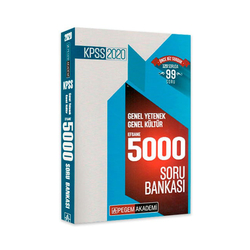 Pegem Akademi Yayıncılık - Pegem Yayınları 2020 KPSS Genel Yetenek Genel Kültür Efsane 5000 Soru Bankası
