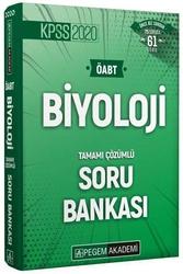 Pegem Akademi Yayıncılık - Pegem Yayınları 2020 ÖABT Biyoloji Öğretmenliği Tamamı Çözümlü Soru Bankası