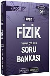 Pegem Akademi Yayıncılık - Pegem Yayınları 2020 ÖABT Fizik Öğretmenliği Tamamı Çözümlü Soru Bankası