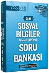 Pegem Akademi Yayıncılık - Pegem Yayınları 2020 ÖABT Sosyal Bilgiler Öğretmenliği Tamamı Çözümlü Soru Bankası