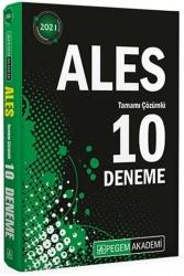 Pegem Akademi Yayıncılık - Pegem Yayınları 2021 ALES Tamamı Çözümlü 10 Deneme