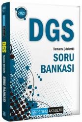 Pegem Akademi Yayıncılık - Pegem Yayınları 2021 DGS Tamamı Çözümlü Soru Bankası