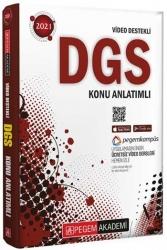 Pegem Akademi Yayıncılık - Pegem Yayınları 2021 DGS Video Destekli Konu Anlatımlı