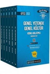Pegem Akademi Yayıncılık - Pegem Yayınları 2021 KPSS Genel Yetenek Genel Kültür Video Destekli Konu Anlatımlı Modüler Set 6 Kitap