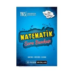 Pegem Akademi Yayıncılık - Pegem Yayınları YKS 1. Oturum TYT Matematik Soru Bankası