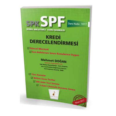 Pelikan Kitabevi SPK - SPF Kredi Derecelendirmesi Konu Anlatımlı Soru Bankası 1017