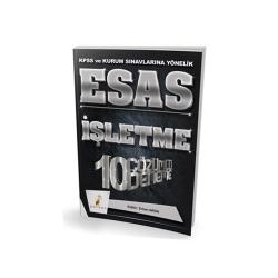 Pelikan Yayıncılık - Pelikan Yayıncılık 2018 KPSS ve Kurum Sınavlarına Yönelik ESAS İşletme 10 Çözümlü Deneme